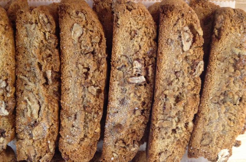 Candied Pecan Biscotti Recipe — Dishmaps