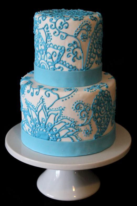 Mehndi Patterns For Cakes : Images about henna bachelorette party cakes on